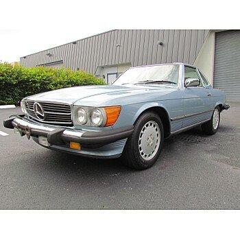 1987 Mercedes-Benz 560SL for sale 101018708