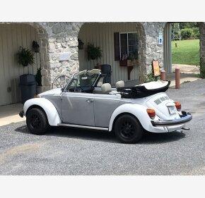 1978 Volkswagen Beetle Convertible for sale 101020670