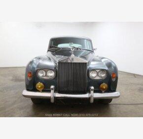 1963 Rolls-Royce Silver Cloud for sale 101025981