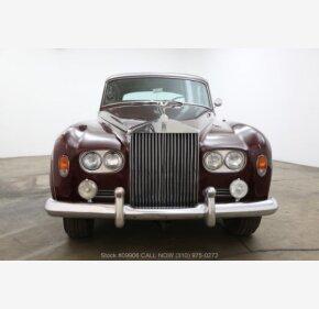 1963 Rolls-Royce Silver Cloud for sale 101026518