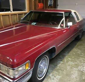 1975 Cadillac De Ville Coupe for sale 101027878