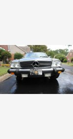 1984 Mercedes-Benz 380SL for sale 101029047