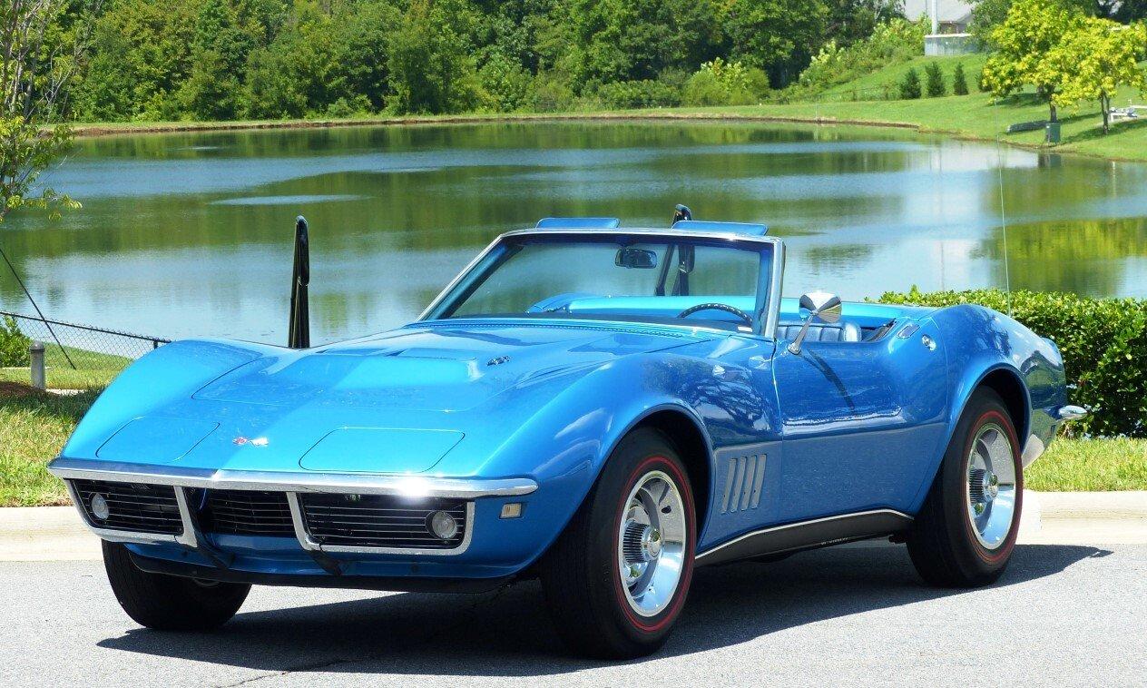 1968 Chevrolet Corvette For Sale Near Charlotte North Carolina 28262 Classics On Autotrader