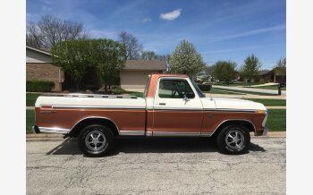 1975 Ford F100 2WD Regular Cab for sale 101031203