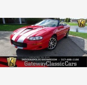 2002 Chevrolet Camaro Z28 Convertible for sale 101034917