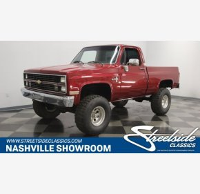 1984 Chevrolet C/K Truck 4x4 Regular Cab 1500 for sale 101036240