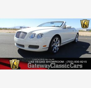 2007 Bentley Continental GTC Convertible for sale 101036295