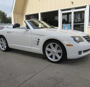 2005 Chrysler Crossfire Limited Convertible for sale 101042509