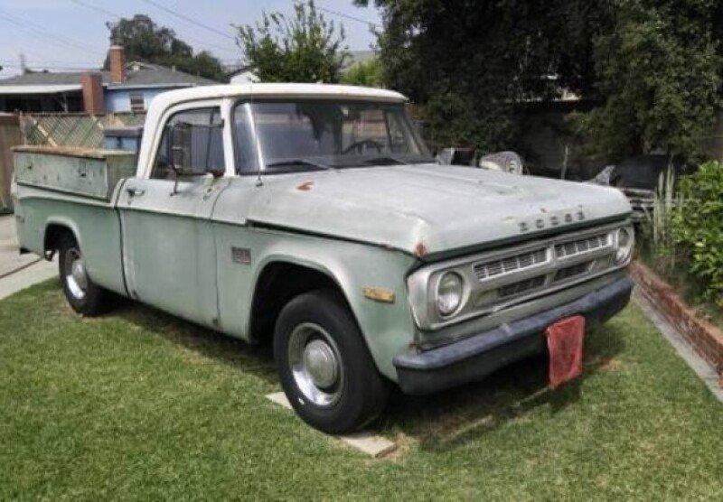 Old Dodge Trucks For Sale >> Dodge Classic Trucks For Sale Classics On Autotrader