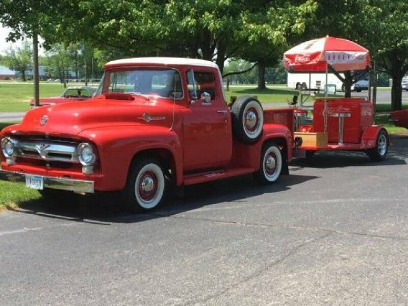 1956 Ford F100 Classics For Sale Classics On Autotrader