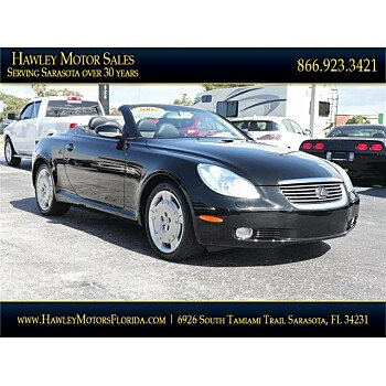 2002 Lexus SC 430 Convertible for sale 101051412