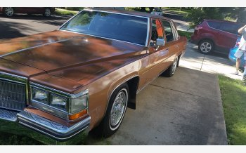1984 Cadillac De Ville Sedan for sale 101058463