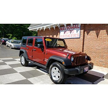 2010 Jeep Wrangler 4WD Unlimited Sport for sale 101059292