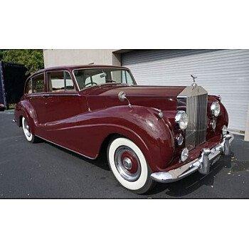 1956 Rolls-Royce Silver Wraith for sale 101060075