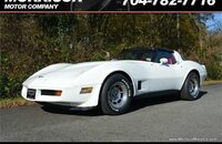 1981 Chevrolet Corvette Coupe for sale 101061179
