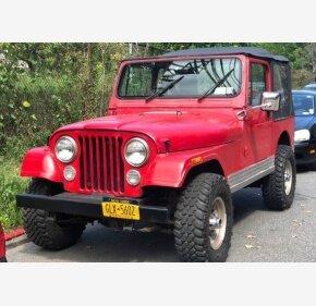 1985 Jeep CJ 7 for sale 101064989