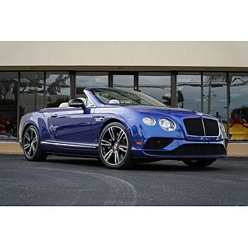 2016 Bentley Continental GT V8 S Convertible for sale 101066878