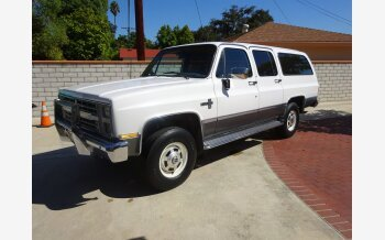 1988 Chevrolet Suburban 4WD 2500 for sale 101071833