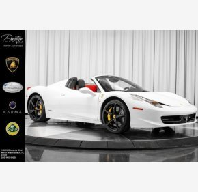 2014 Ferrari 458 Italia Spider for sale 101077272