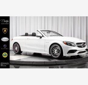 2017 Mercedes-Benz C63 AMG Cabriolet for sale 101077291
