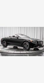 2017 Mercedes-Benz S63 AMG 4MATIC Cabriolet for sale 101077369