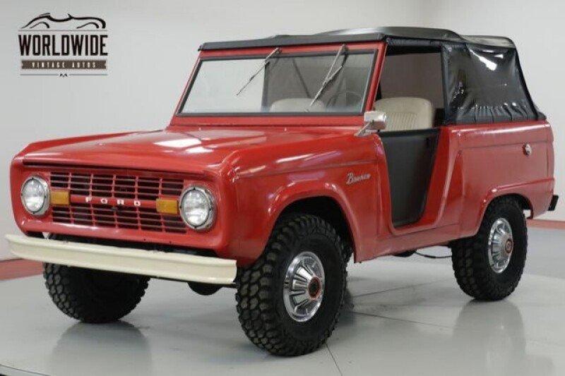 1969 Ford Bronco for sale near Denver, Colorado 80216