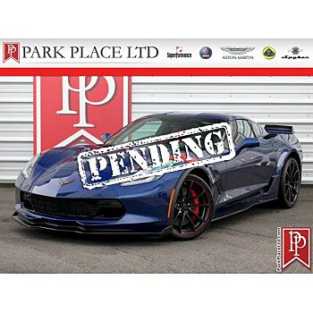 2017 Chevrolet Corvette Grand Sport Coupe for sale 101078224