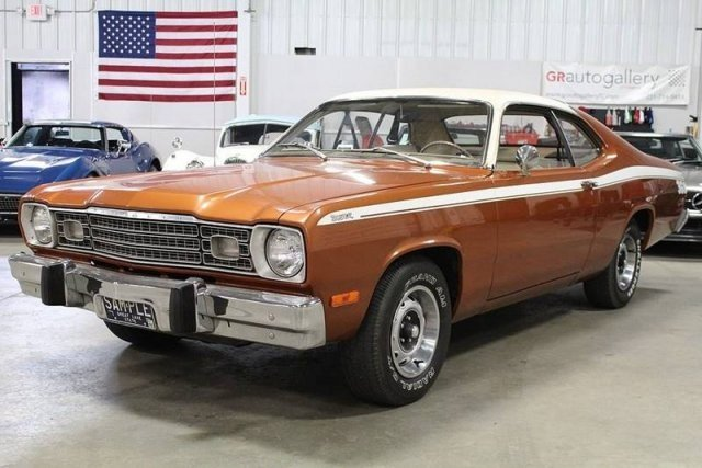 plymouth duster classics for sale classics on autotraderBlack Beauty 1974 Plymouth Duster 2door Hardtop Coupe Powered #20