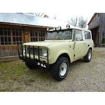1967 International Harvester Scout for sale 101083685