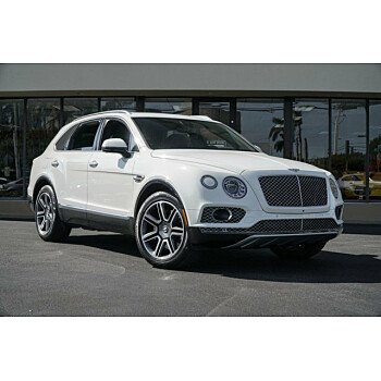 2018 Bentley Bentayga for sale 101084243