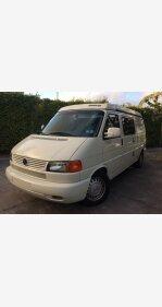 2002 Volkswagen Eurovan Camper for sale 101084698