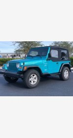 1997 Jeep Wrangler 4WD Sport for sale 101084788