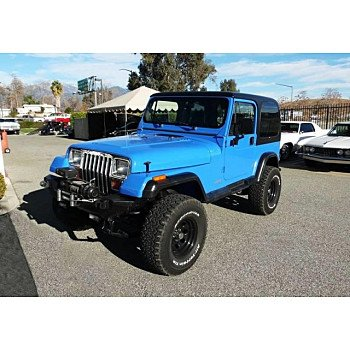 1994 Jeep Wrangler 4WD SE for sale 101086744