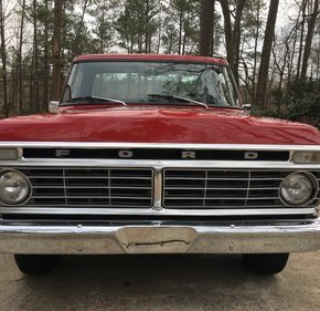1974 Ford F100 2WD Regular Cab for sale 101087539