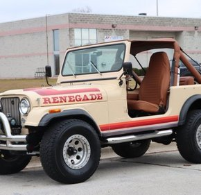 1982 Jeep CJ 7 for sale 101089665