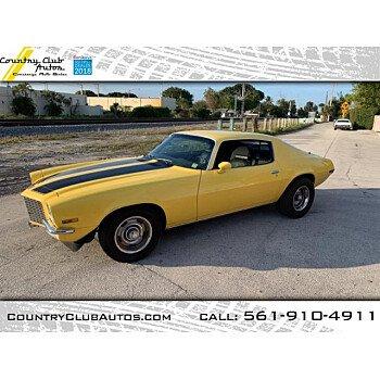 1970 Chevrolet Camaro for sale 101089992