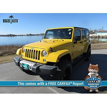 2015 Jeep Wrangler 4WD Unlimited Sahara for sale 101090743