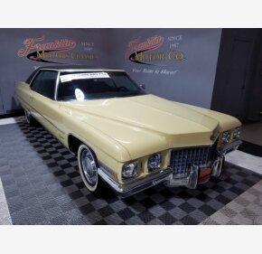 1971 Cadillac De Ville for sale 101092528