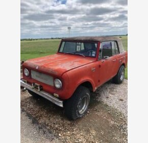 1966 International Harvester Scout for sale 101096934