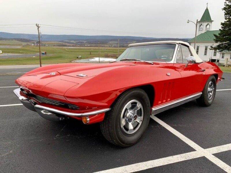 1966 Corvette Stingray Split Window