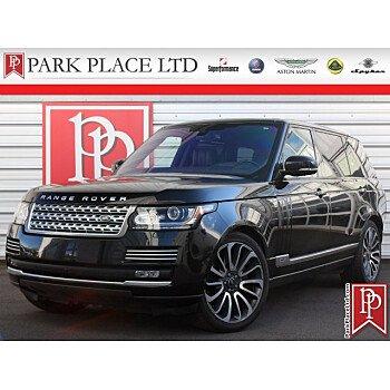 2016 Land Rover Range Rover Long Wheelbase Autobiography for sale 101099422
