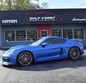 2016 Porsche Cayman GT4 for sale 101099738