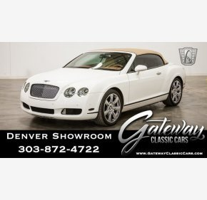 2007 Bentley Continental GTC Convertible for sale 101100310
