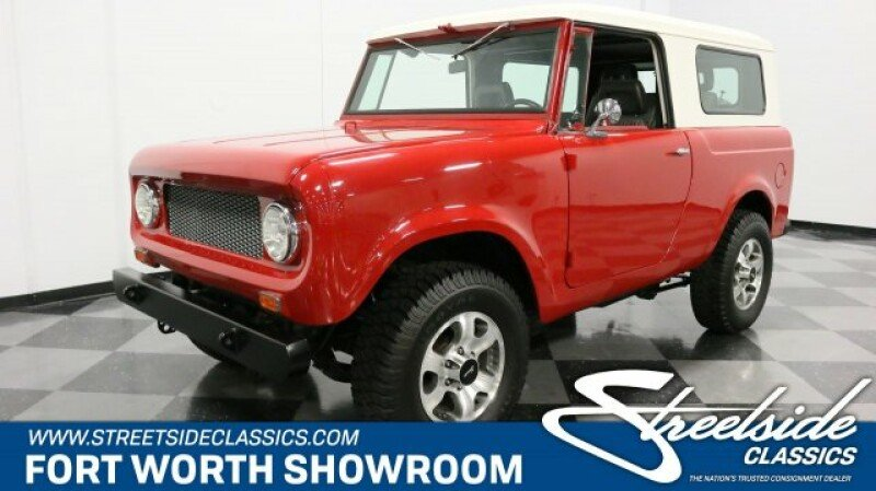 International Harvester Scout Classics For Sale Classics On Autotrader