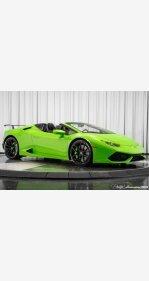 2017 Lamborghini Huracan LP 610-4 Spyder for sale 101100654