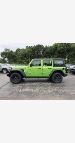 2018 Jeep Wrangler 4WD Unlimited Sport for sale 101102868