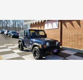 2006 Jeep Wrangler 4WD X for sale 101105059