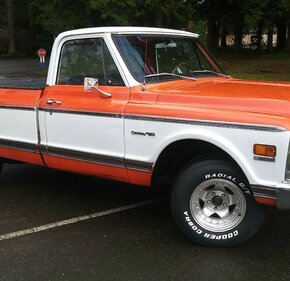 1972 Chevrolet C/K Truck 2WD Regular Cab 1500 for sale 101105177