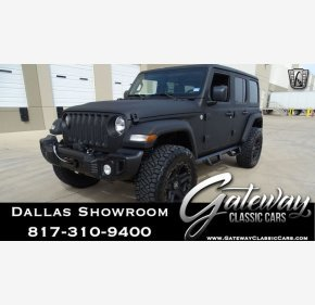 2018 Jeep Wrangler 4WD Unlimited Sport for sale 101106587