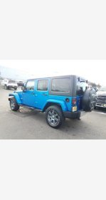 2015 Jeep Wrangler 4WD Unlimited Sahara for sale 101107150
